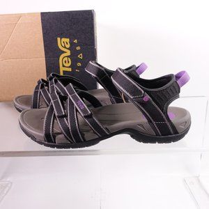 NEW Teva Tirra Strappy Water Sandals 4266/BKGY